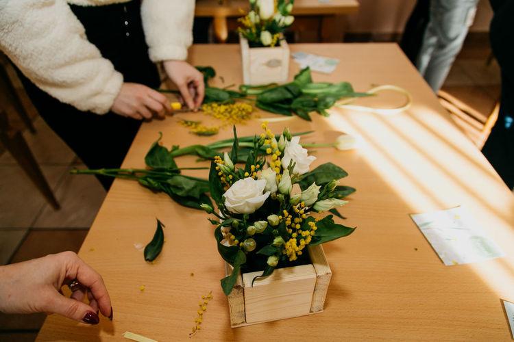 Floristry workshop.