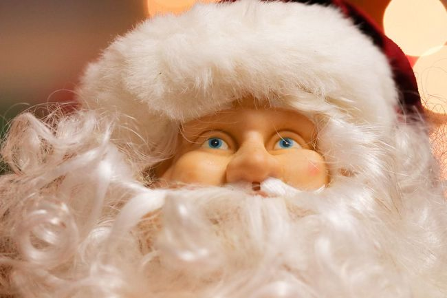 Santa's watching you Cheer Christmas Lights Celebration Blue Eyes White Beard Holiday - Event Christmas Decoration Santa Claus EyeEm Selects Childhood Indoors  Looking At Camera Cute Portrait Innocence One Person Home Interior Human Face Close-up Eyeball Smiling