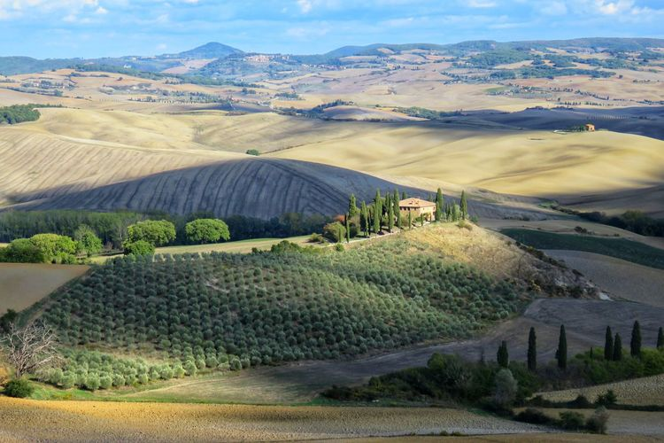 Toscane, Tuscany Beauty In Nature Day Landscape Mountain Nature No People Outdoors Rural Scene Scenics Sky Toscane Tranquil Scene Tranquility