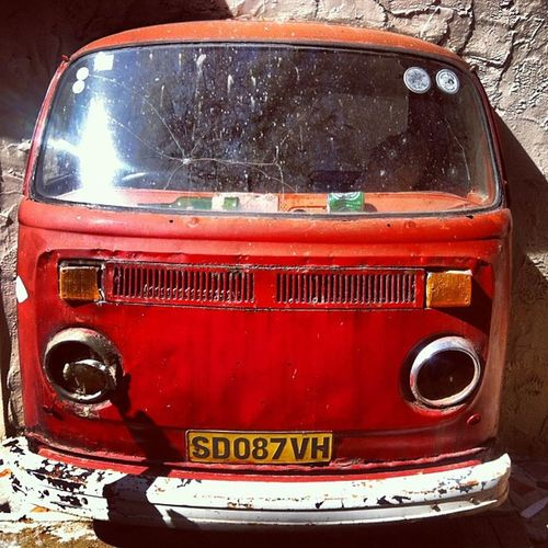 My Kombi isn't quite as bad as this one but then again.... Vwkombi Swazilandrocks Africa Travel adventure
