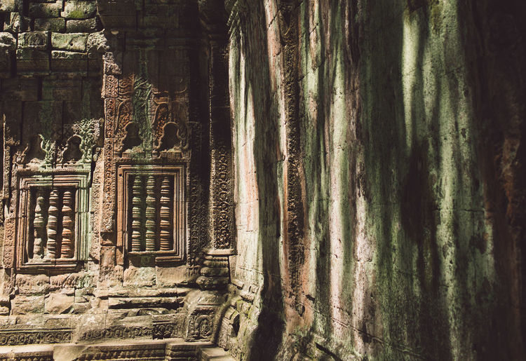 Siem Reap Cambodia Angkor Architecture No People Built Structure Nature Day Travel Destinations History Building The Past Old Travel Outdoors Water Building Exterior Land Beauty In Nature Tranquility Plant Window Ancient Civilization