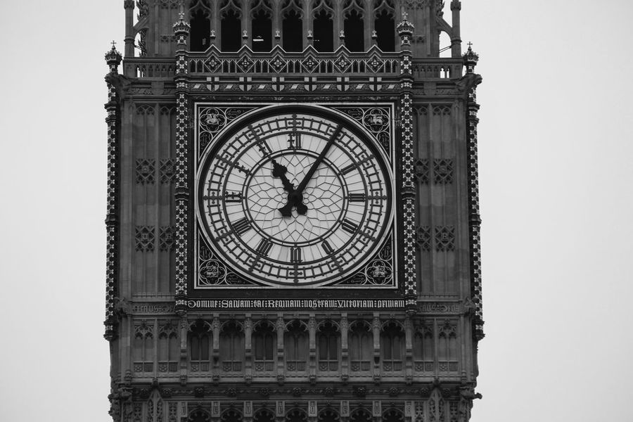 Architecture Big Ben Blackandwhite City Clock Clock Face Clock Tower Cultures Day Horizontal Hour Hand London Lifestyle LONDON❤ Minute Hand Monochrome No People Old-fashioned Outdoors Time Tower Travel Travel Destinations Traveling Traveltheworld White Background