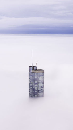 Up in Smoke Architecture Cold Temperature Building Exterior Nature Sky Built Structure No People Winter Day Snow Building Water Scenics - Nature Fog Cloud - Sky Outdoors Environment Environmental Conservation Renewable Energy