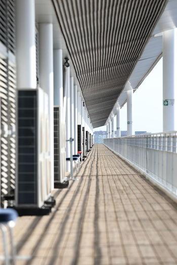 Corridor of building