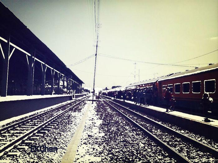 Lempuyangan Train Station Street Photography Perspectiveporn Sketch The Train