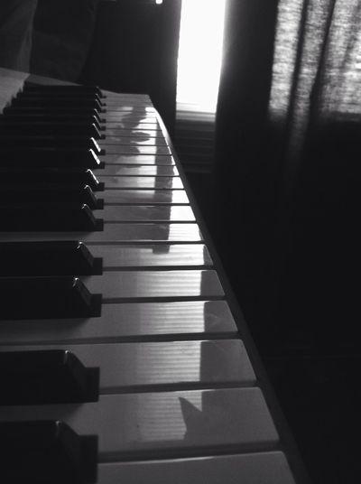 nocturne B&w Piano