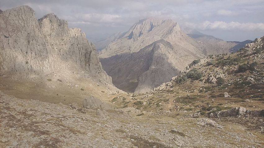 Algeria North Africa Tikjda Djurdjura Top Of The World Montain  Cloud - Sky Nature Landscape Tranquility Outdoors Bouira Mountain Tranquil Scene Tranquility Miles Away