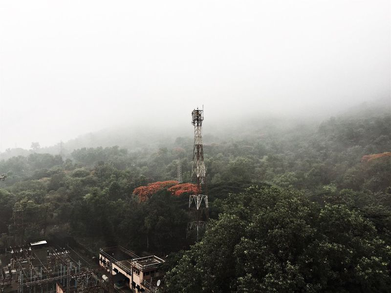Yeoor Hills Mumbairains Right From My Window Thane Thane Rains