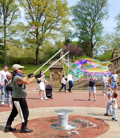 Bethesda Terrace Central Park Fun Enjoyment Leisure Activity Outdoors Real People BYOPaper! Neighborhood Map