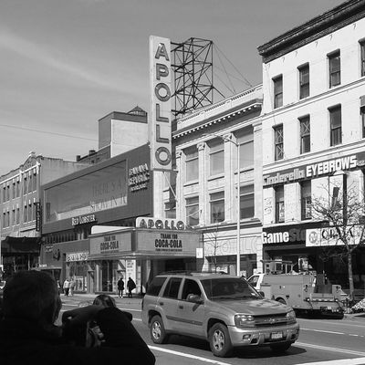 Apollo Theatre Downtown Harlem, NYC New York City Blackandwhite Photography Eyeemphotography Iconic Buildings Cityscapes