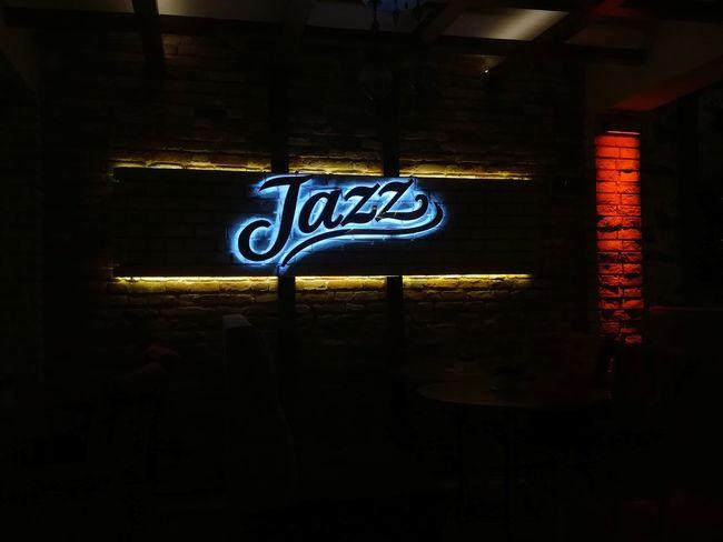 Coffee Ufocus Coool Night Indoors  Neon Jazz Jazzconsept Communication Text No People City Original Photography Justthinking