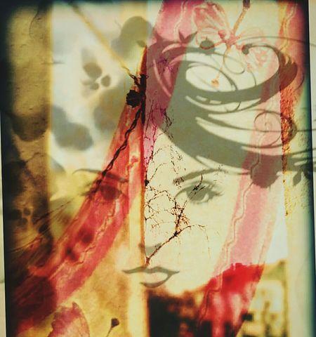Reflection Glass - Material Red Technical Geometric Shape Popculture Multi Colored Artphoto Art And Craft Hello World First Eyeem Photo Creativity Modern Art Istanbul Turkey Konstantinopolis Konstantinapolis Artphotography