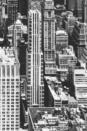 nyc, black and white, office building, urban, city, Pattern Cityscape Backgrounds Full Frame White Background Skyscraper Skyline Urban Scene High Rise Tower