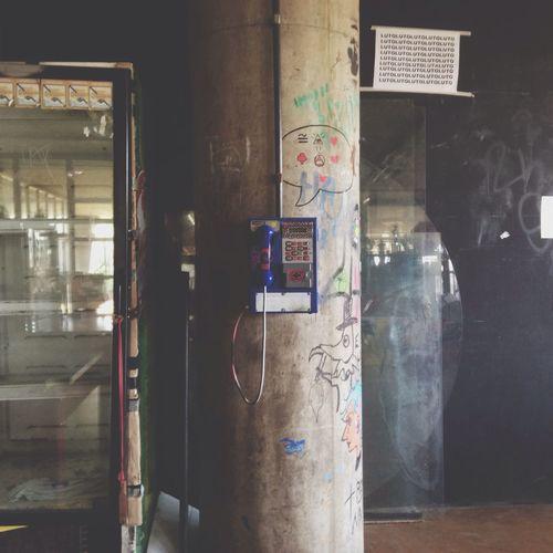 Telephone Pillar Door School