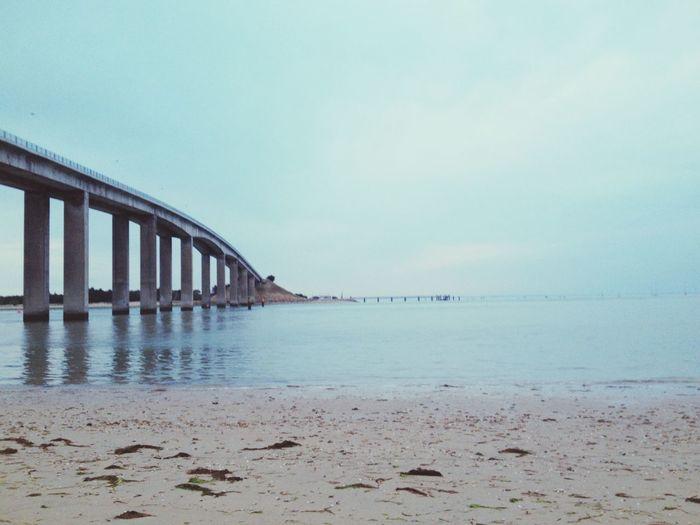 Beautiful France Summer Holiday Beach Sea Blue Pont Taking Photos Photography