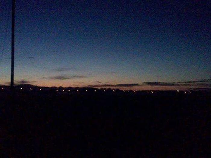 Sunrise Sunrise Train Lights Wonderful