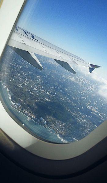 안녕:( Byebye From An Airplane Window Comebackhome JEJU ISLAND
