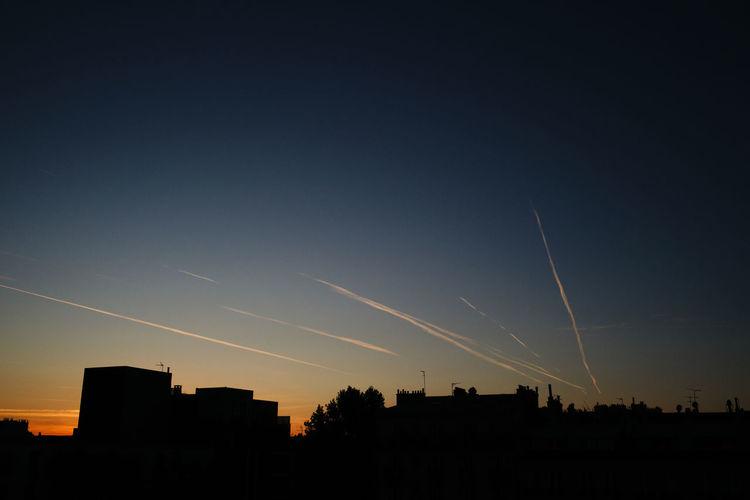 A moment. Sky