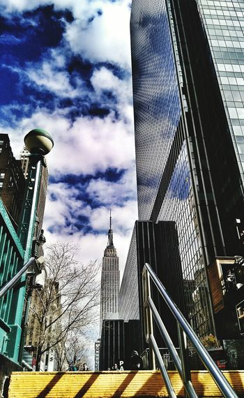 Subway Series Newyorkcity Viewfromunder Numb Fingers Chill Day