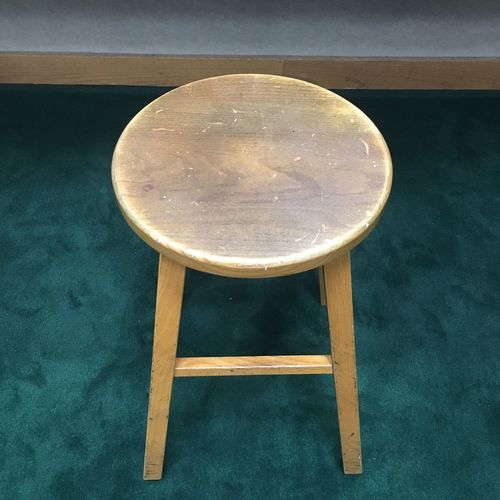 Sit Wood Stool Chair Seat No People Table Indoors  Geometric Shape High Angle View Still Life Shape