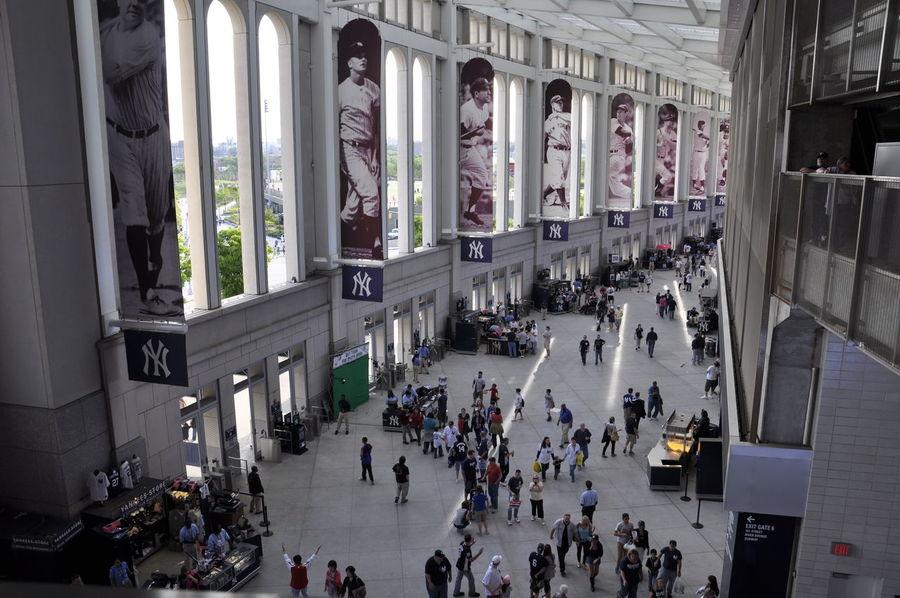 Yankee Stadium Yankees Building Baseball New York Fans People Fine Art Photography Nikon Showcase July Miles Away EyeEmNewHere The Street Photographer - 2017 EyeEm Awards The Architect - 2017 EyeEm Awards The Graphic City