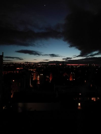 Illuminated Night Sky Outdoors No People Nature City Nofillter Past Seeyoutomorrow Abendstimmung Abendhimmel Abenddämmerung Clouds And Sky Star Darkness And Light Cityscape Building Exterior Winter Weather Staring At The Sky Risingstar Welcome To Black