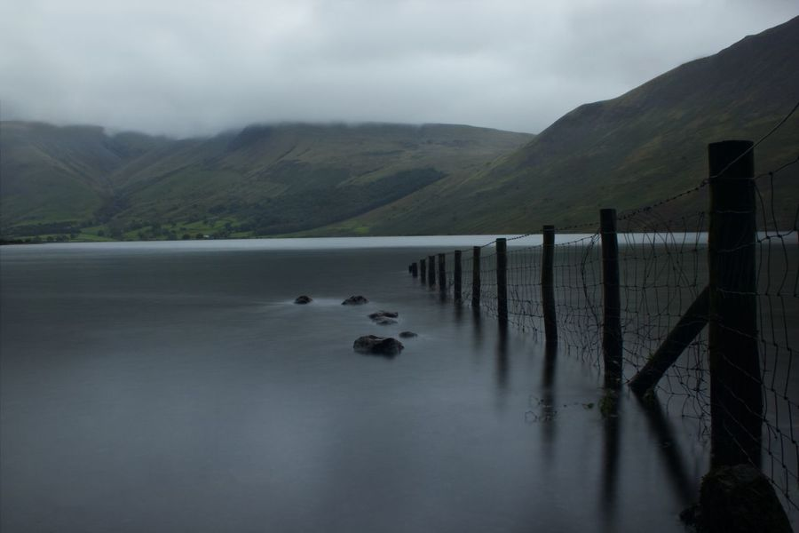One of my favourite pictures at one of my favorite areas of England, the Lake District. Long Exposure Cloud - Sky Water Mountain Lake Fog Landscape Tranquil Scene Idyllic Remote Lakeside Tranquility Calm Scenics Mountain Range Non-urban Scene Countryside Scenic View