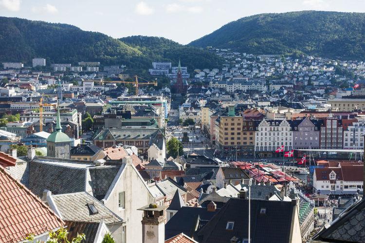 Bergen old city