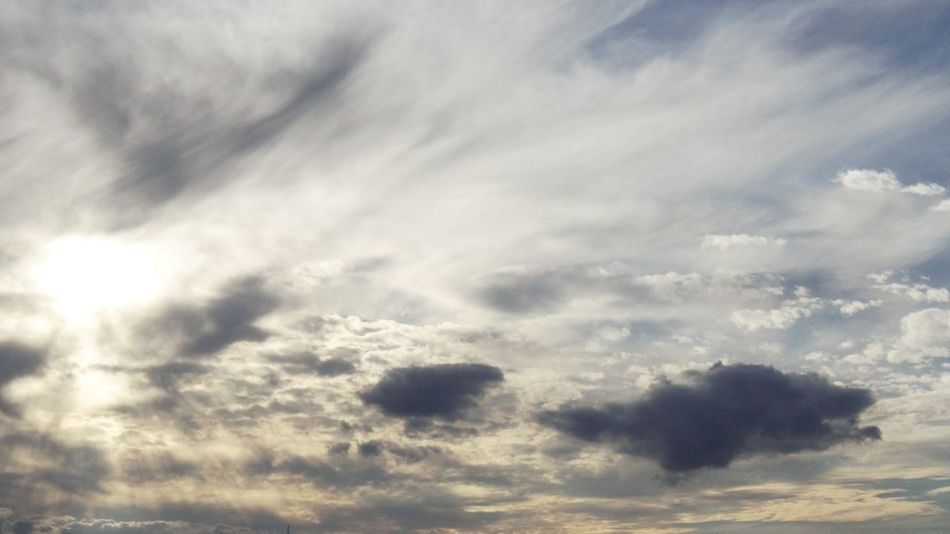Backgrounds Beauty In Nature Cloud - Sky Cloudscape Day Full Frame Low Angle View Nature No People Outdoors Scenics Sky Sky Only Tranquil Scene Tranquility