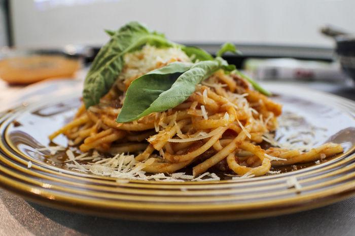 Aglio Aglio Olio Aglioolio Close-up Food Freshness Indulgence Meal Plate Ready-to-eat Selective Focus Serving Size Speghetti Still Life Temptation