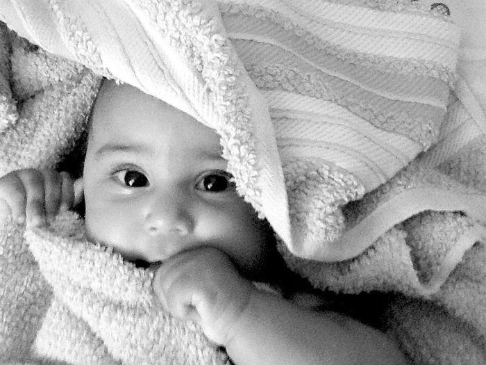 Chiquitica Innocence Baby Cute Blackandwhite First Eyeem Photo