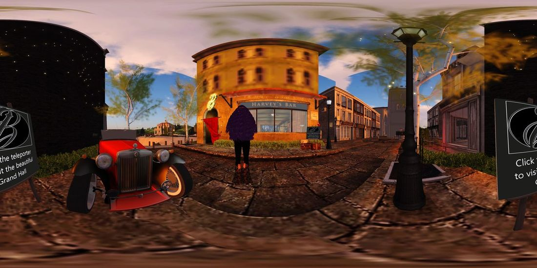 Virtual Reality Secondlife 360° Pictures  360 Panorama Building Exterior Built Structure Architecture