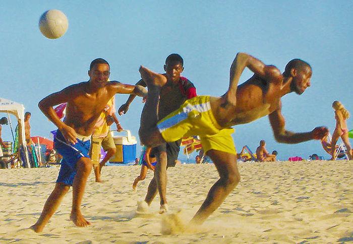 Brazil Copacabana - Rio De Janeiro Gays Ball Futbol Gay Men Rio De Janiero Soccer Sports Testosterone