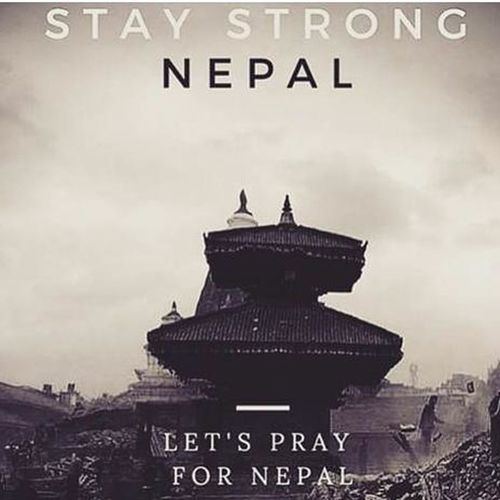 & Prayers Goes Out To The Victims & Their Families After The Terrible Nepal Earthquake ❤️