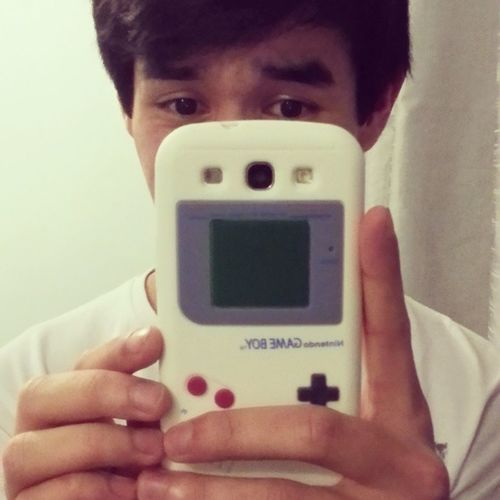 Yay for my new phone case! Looking beastly awesome! Gameboycase Gameboy Samsunggalaxxys3