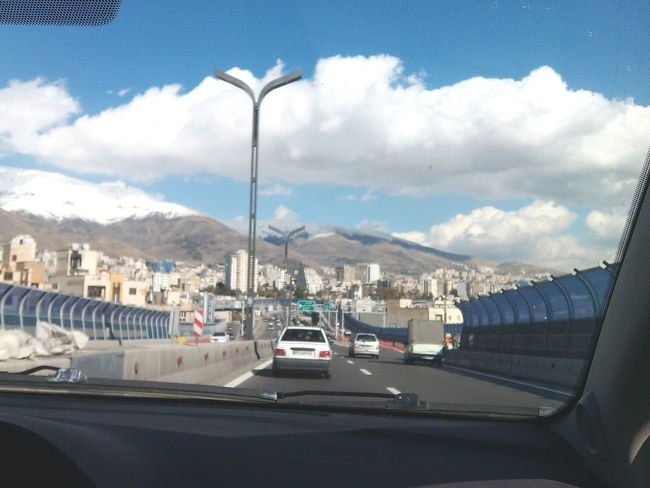 Iran♥ Youmustseeiran Sky And Clouds My Tehran Hopeful Dreaming Sweet Dreams Blue Sky
