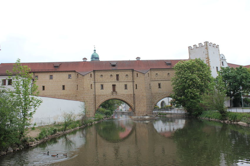 Amberger Stadtbrille Amberg Amberg In Germany Amberger Stadtbrille Architecture Bridge Building Building Exterior Built Structure Nature No People Outdoors Sky Tree Water