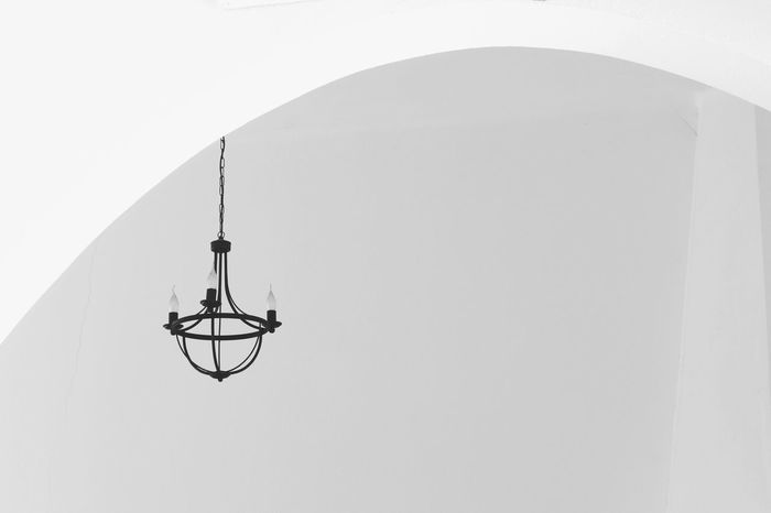 Chandelier Design Minimalistic Minimalistic Photography Minimalistic Interior Design Blackandwhite White Background White Wall Lines, Shapes And Curves Home Is Where The Art Is Pivotal Ideas TheWeekOnEyeEM ColorPalette Interior Design
