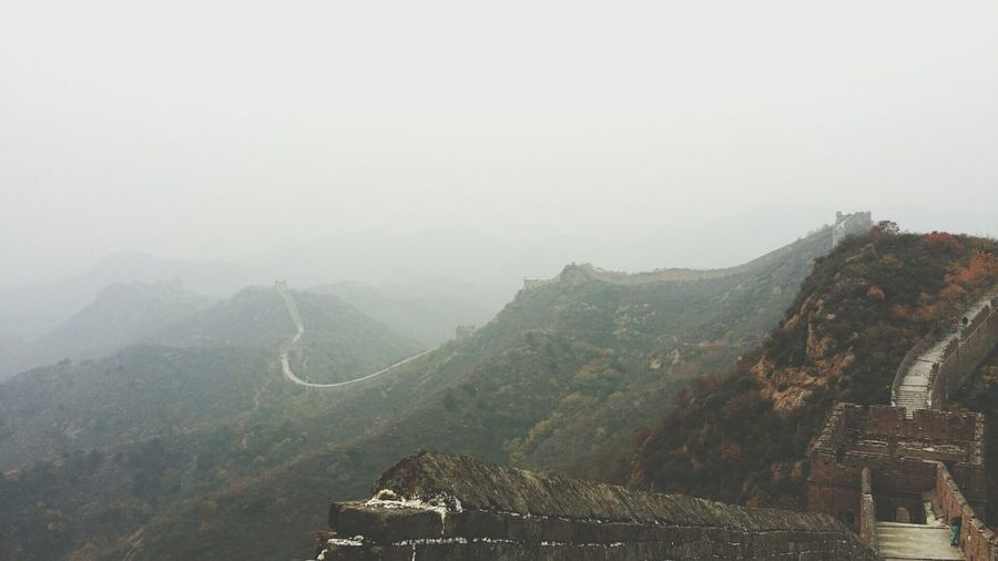 best experience ever. The Great Wall Traveling In China Beautiful Photography