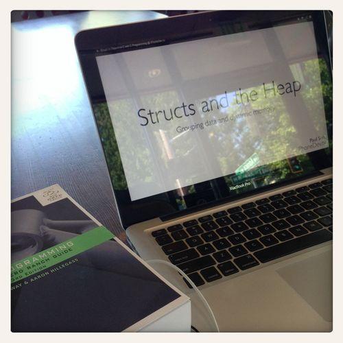 Studying at Starbucks