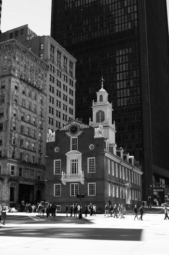 Ages of Boston Old State House Architecture_collection Architecture Cityscape City Blackandwhite EyeEm Best Shots EyeEm Best Shots - Black + White