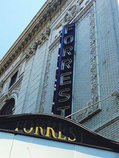 Forrest Theatre Philadelphia Theatre Theatre Theatre Exterior Neon Lights