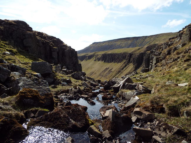 Tranquil Scene Tranquility Non Urban Scene Non-urban Scene English Countryside Nature At Its Best North Pennines Pennine Way Pennines Stream Rocks Rocky Mountains And Hills Area Of Outstanding Natural Beauty AONB The Great Outdoors - 2016 EyeEm Awards Ice Age Finding New Frontiers