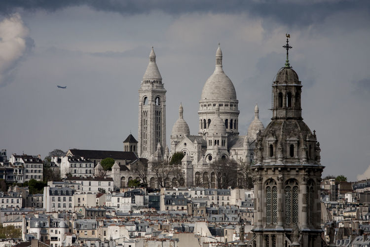 Architecture Capital Cities  Cathedral Cityscapes Dome Famous Place No People Paris Religion Rooftops Scenics Spirituality Stormy Weather Tourism Travel Destinations Weather Market Reviewers' Top Picks