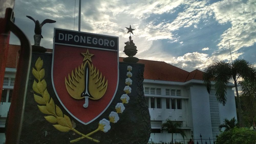 Diponegoro Text Architecture Building Exterior Outdoors Built Structure No People Day Sky City Museum Government Building Government Property The Graphic City Colour Your Horizn Stories From The City