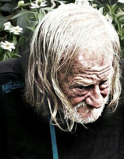 Human Hair Mensch Ist Mensch Obdachlosigkeit Traurigkeit Magic