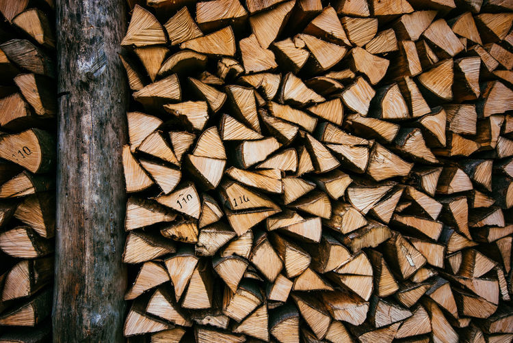Abundance Backgrounds Day Deforestation Forestry Industry Full Frame Large Group Of Objects Log Lumber Industry No People Outdoors Pattern Shape Stack Textured  Timber Woodpile