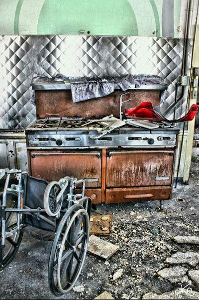 The Kitchen. Urbex Urban Exploration Abandoned Places Abandoned Hospital Abandonedasylum