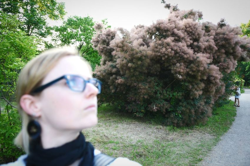That's Me! Taking Photos in the Botanical Garden in Berlin . Selfportrait Self Portrait Selfie ✌ Nature Out Of Focus