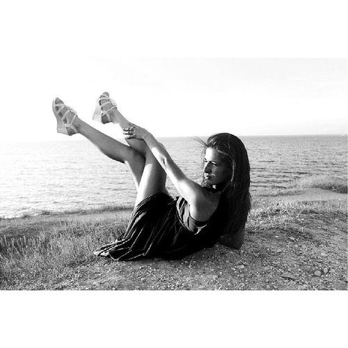 Море ,я уже скучаю. Followme Likeforlike Look like life отдых beautiful girl InstaSize Daria me relax крым севастополь2014 красота sea blacksea черноеморе